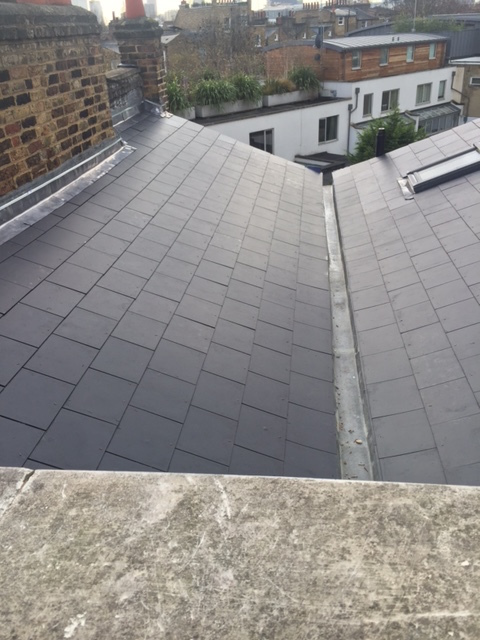 after image of our roofing services in sheffield