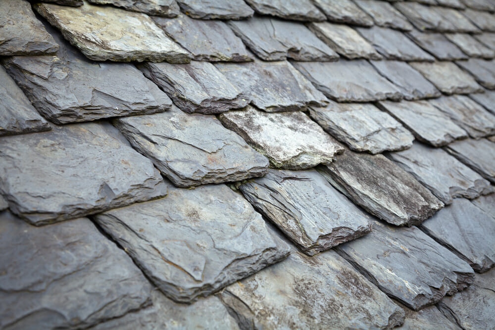 slate roofing placed by our roofer in sheffield